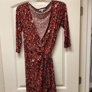 Dress Barn Wrap Dress. Size 12.